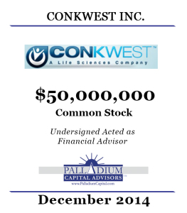 CONKWEST December 2014 Tombstone