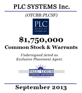 PLC SYSTEMS Large Tombstone 2013